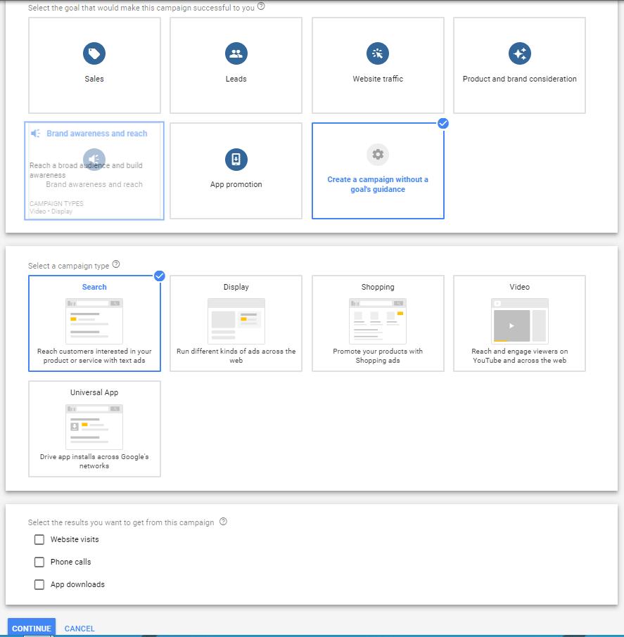 Dynamic Search Ads (DSA) setup