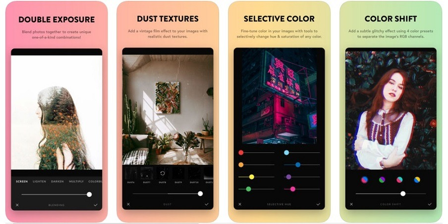best editing functions afterlight