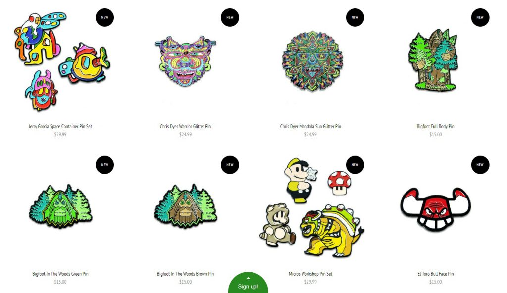 fashion pins to sell on ecommerce store