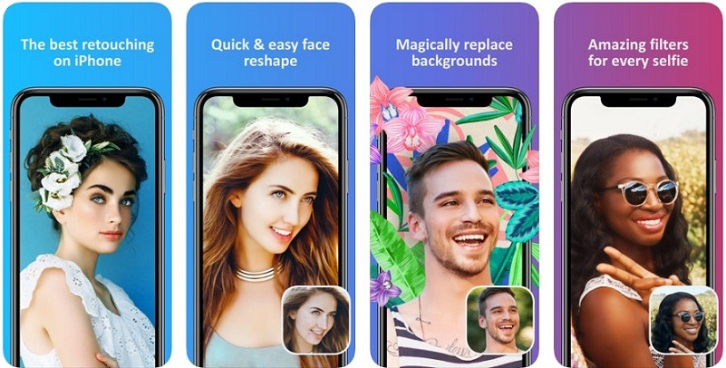 retouching apps for iphone