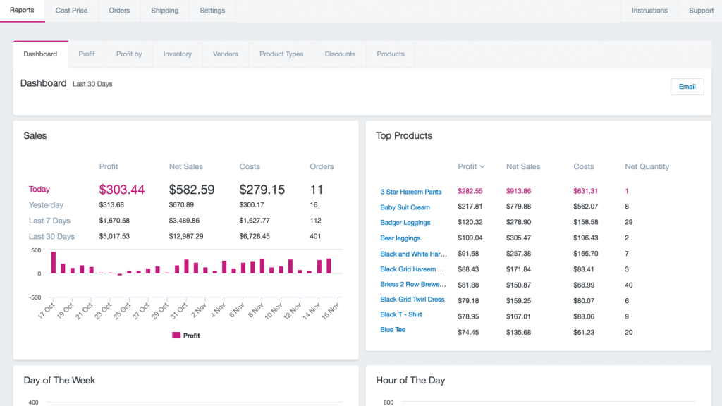 shopify accounting apps Delirious