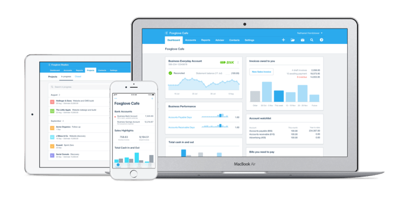 Beautiful business and accounting software