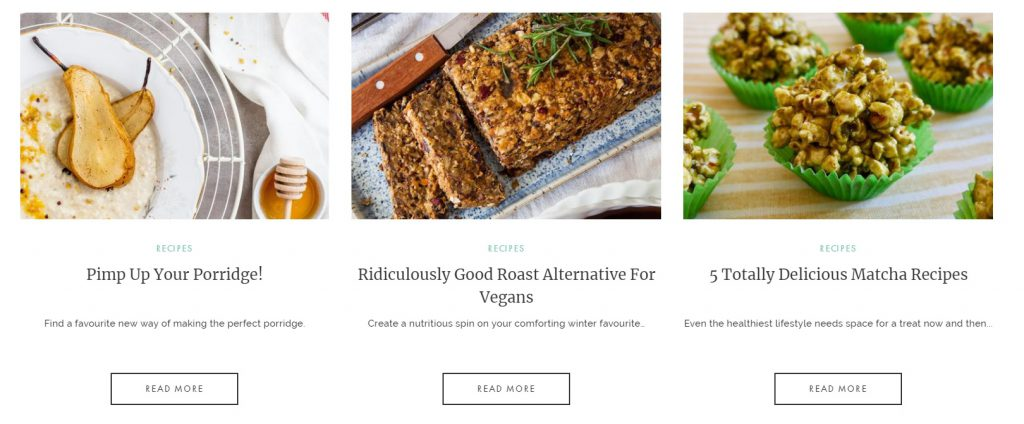 example of good blog content for online stores