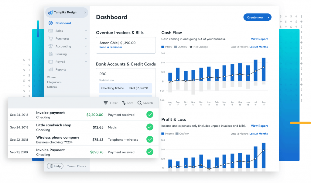 wave accounting user friendly