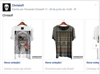facebook Carousel Ads examples ecommerce