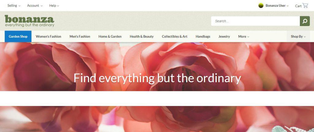 selling products US marketplace bonanza