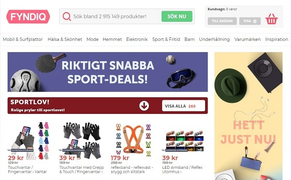 sell products on fyndiq online marketplace