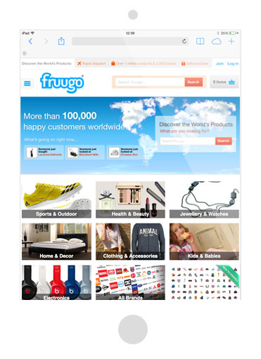 selling products on Fruugo