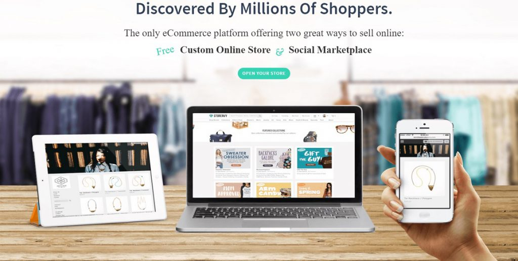 selling products on storeenvy