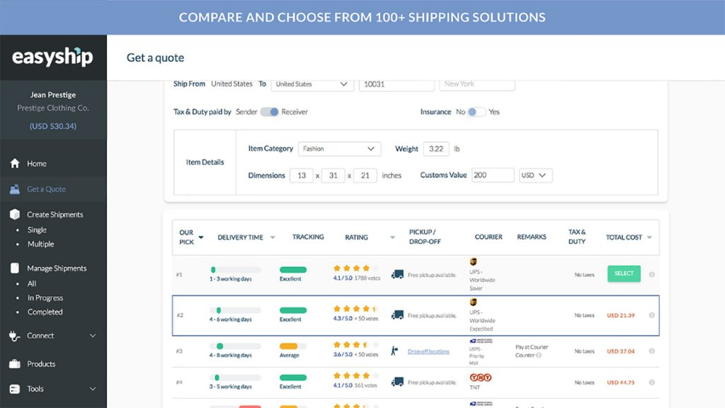 Shipping & Fulfillment Tool