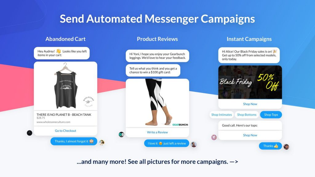 app for messenger marketing
