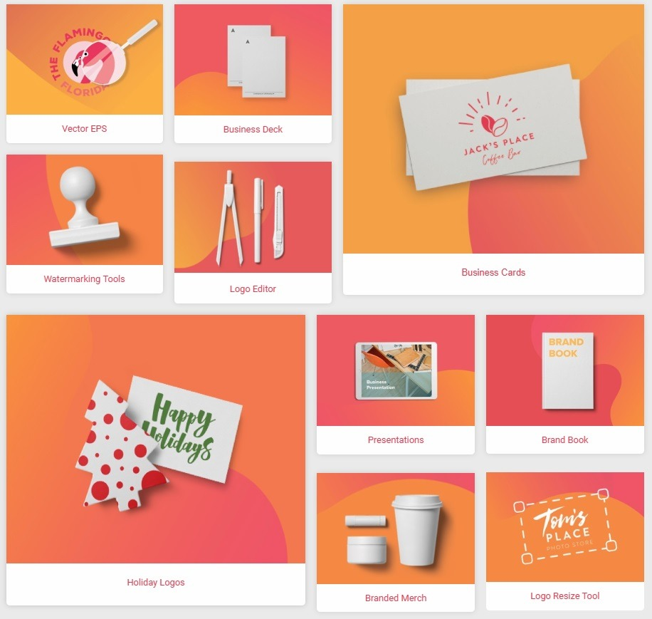 tailor brands branding platform