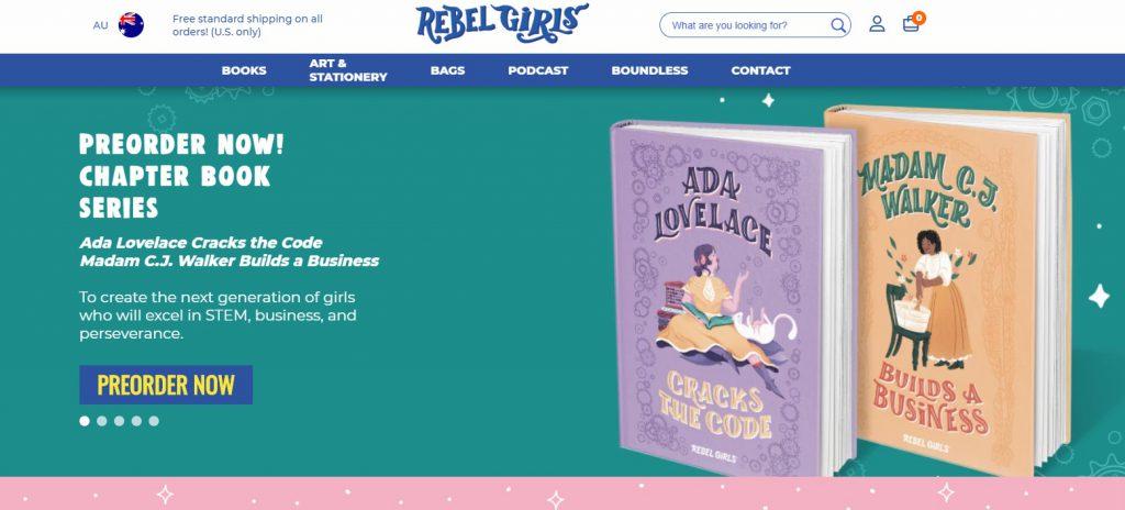 Rebel Girls online store