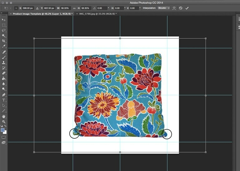 product image template in photoshop