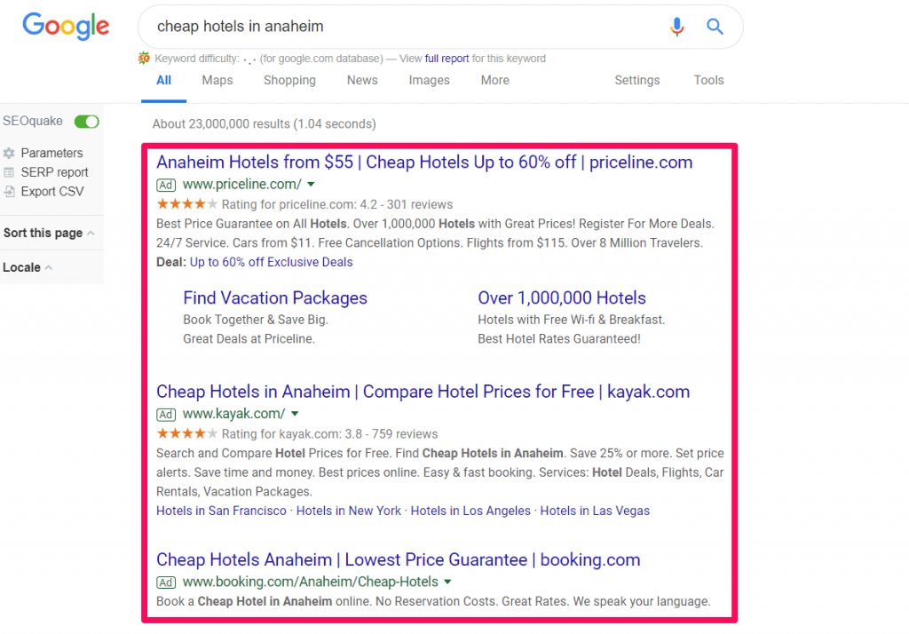 dsa google ad example