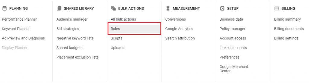google ads automatic bidding