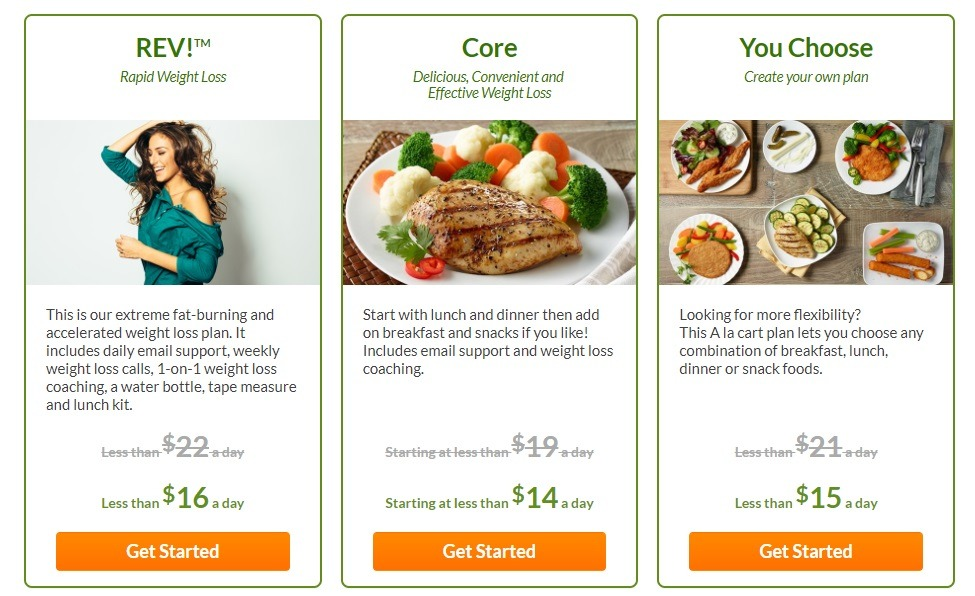 personal trainer meal programs