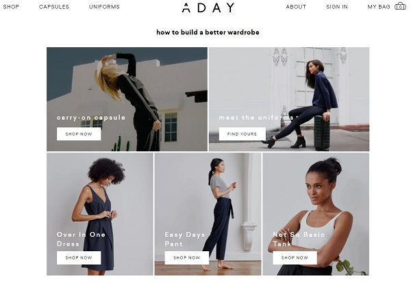 ADAY athleisure trend example