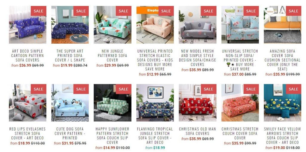 pretty little sofa covers online store