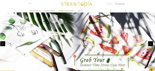 stawtopia online straw store example