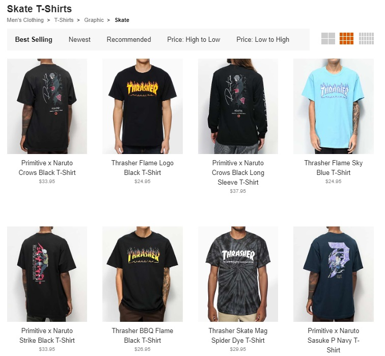 skate -shirts online store