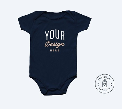 bonfire print on demand baby clothing