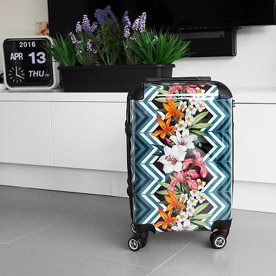 custom suitcases from contrado
