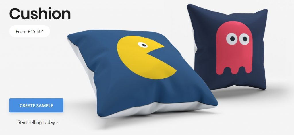 kite.ly print on demand throw pillows