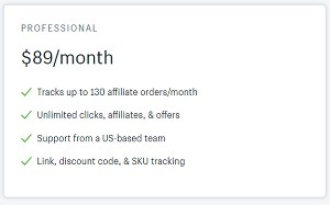 refersion shopify app price