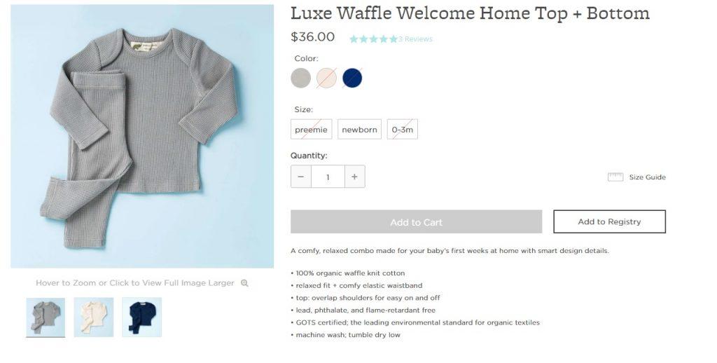 bundle pricing example apparel