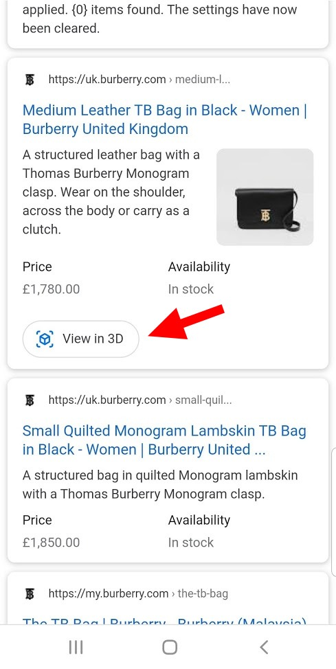 Google 3D Search View for eCommerce Stores [New Feature Alert]
