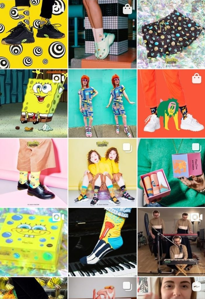 ecommerce example good instagram account