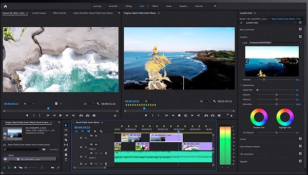 Adobe Premiere pro video editing software for eCommerce 2