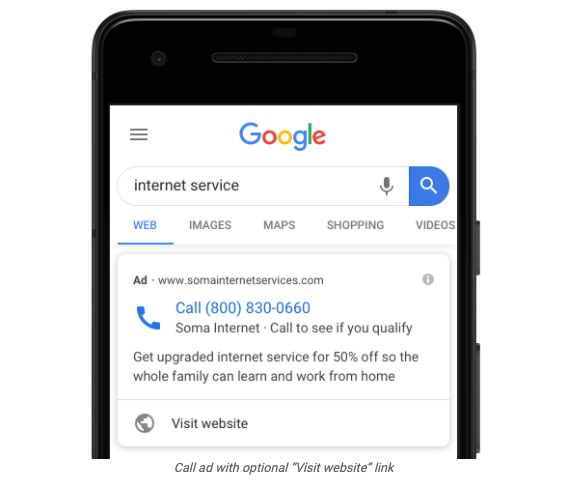 Google-Call-Ads