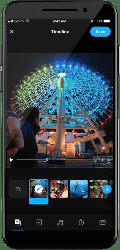 GoPro free video editing app
