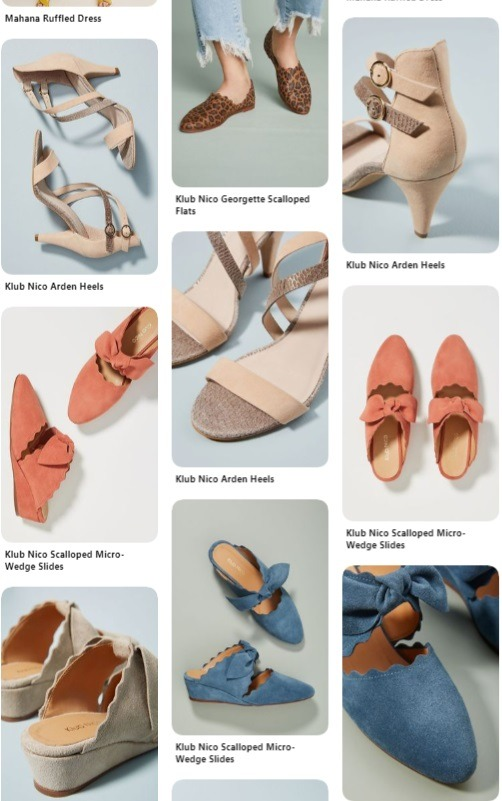 Kub nic ecommerce pinterest account example 2