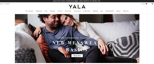 Yala Commerce clothing store example