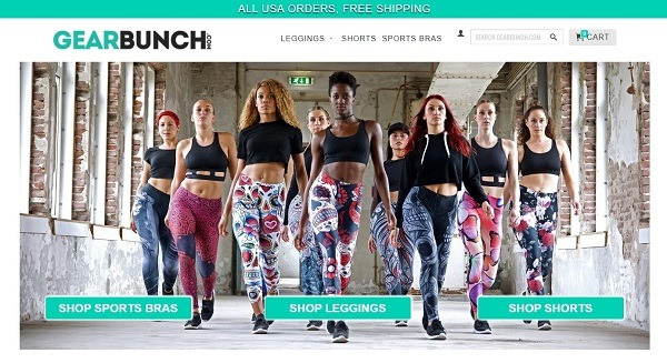 gearbunch eCommerce clothing store example