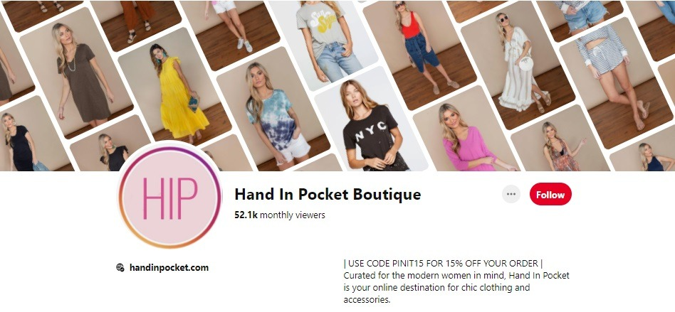 hand in pocket boutique