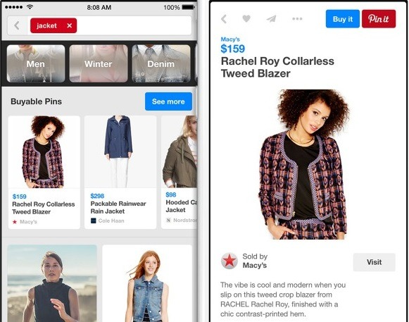 pinterest buyable pins for eCommerce
