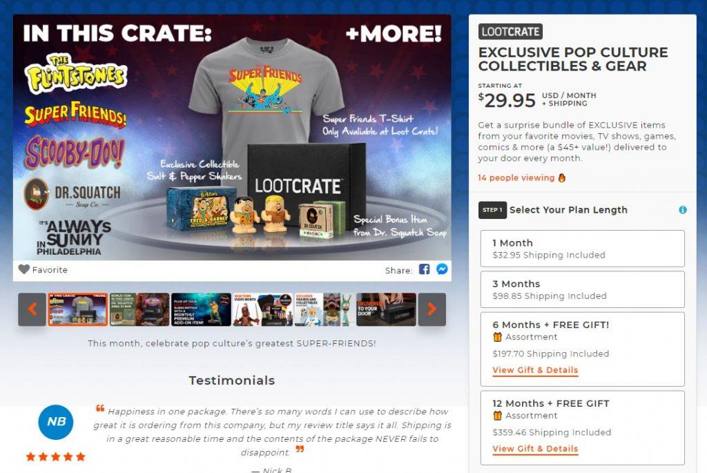 subscription options eCommerce