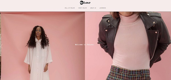 relove online store example