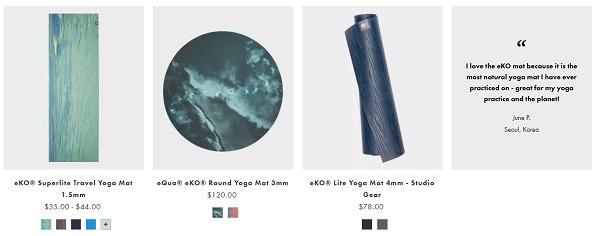 best yoga mat stores online