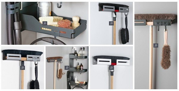 example store selling stylish broom holders