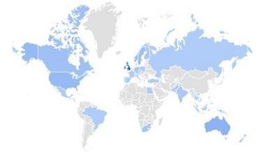 loungewear google trending product per region 22