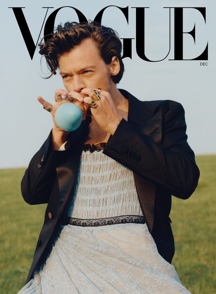 Harry Styles vouge cover