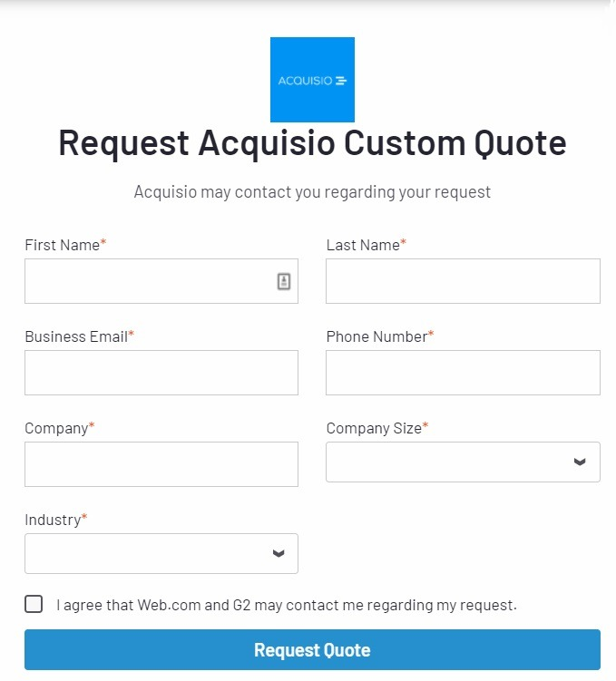 Acquisto pricing options