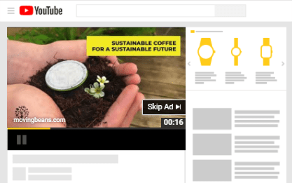 ecommerce YouTube ad example